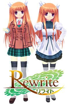 『Rewrite』から「鳳ちはや」aiぽん登場